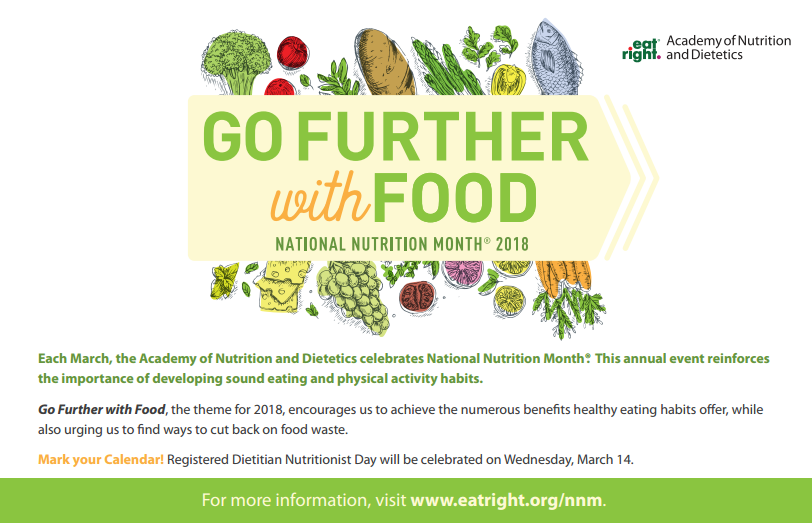 NationalNutritionMonth2018