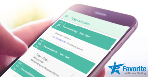 Favorite Healthcare Staffing Mobile App