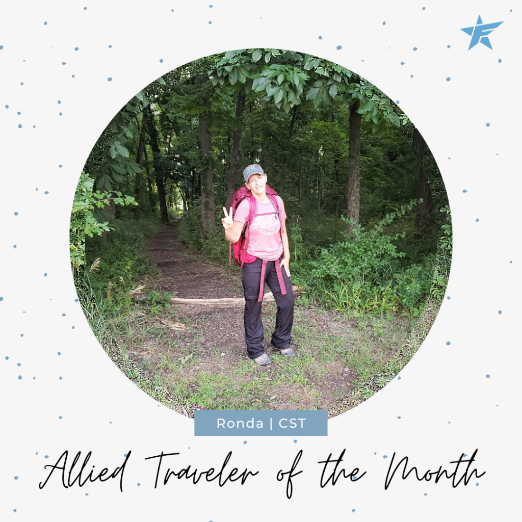 Allied Traveler of the Month October 2020